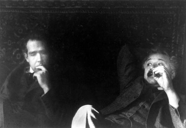 Niels Bohr og Einstein