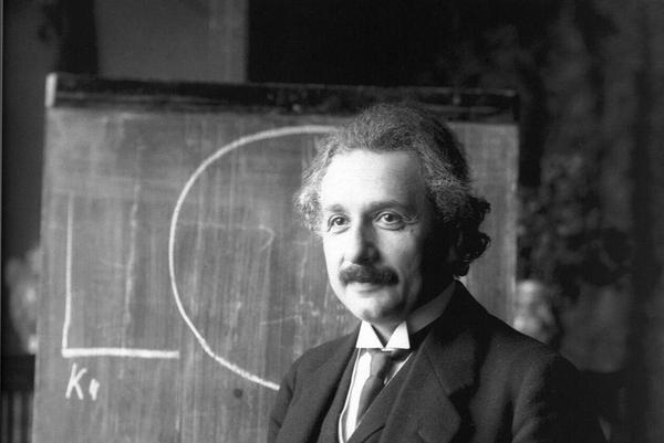 Albert Einstein 1921 by F Schmutzer
