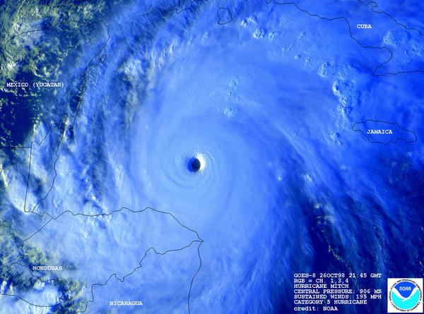 Orkanen Mitch 01